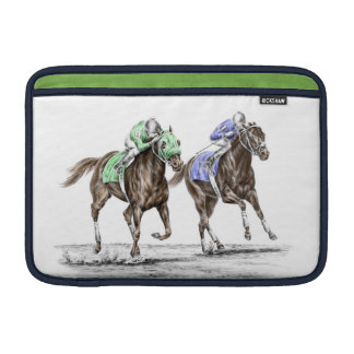 Thoroughbred Horses Racing Sleeve For MacBook Air
