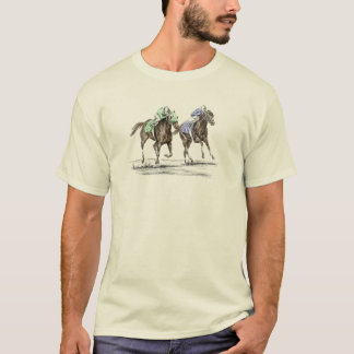 Thoroughbred Horses Racing T-Shirt