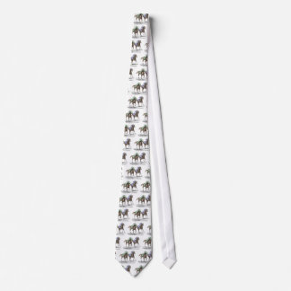 Thoroughbred Horses Racing Tie