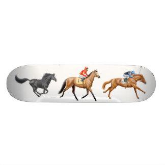 Thoroughbred Horses Skateboard