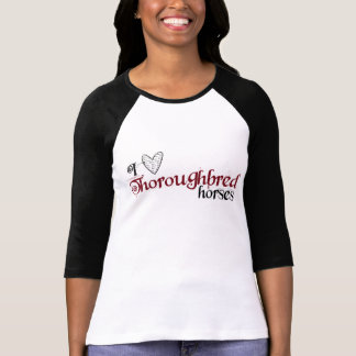 Thoroughbred horses T-Shirt