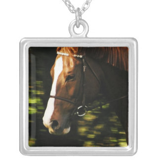 Thoroughbred Mount Sterling Silver Necklace