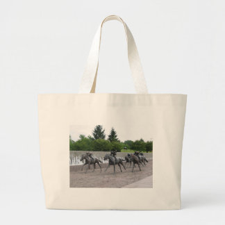 Thoroughbred Park Jumbo Tote Bag