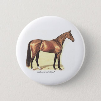 Thoroughbred Pinback Button
