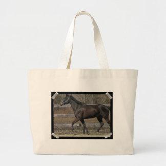 Thoroughbred Prancing Canvas Bag