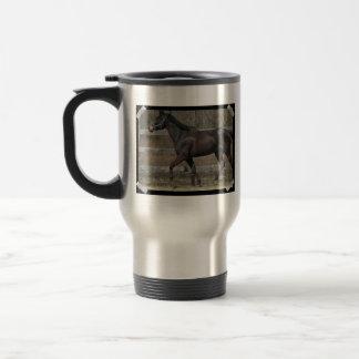 Thoroughbred Prancing Stainless Steel Mug