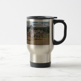 Thoroughbred Race Full Glory Travel Mug