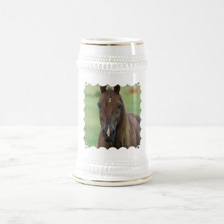 Thoroughbred Race Horse Beer Stein Coffee Mugs
