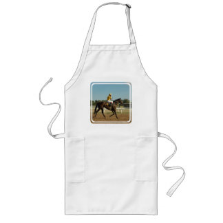 Thoroughbred Race Horse Long Apron