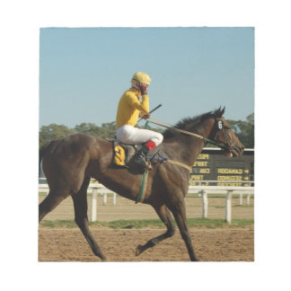 Thoroughbred Race Horse Notepad