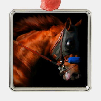 Thoroughbred Race Horse Christmas Tree Ornaments
