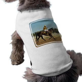Thoroughbred Race Horse Pet Shirt