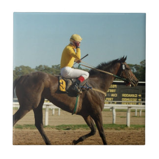 Thoroughbred Race Horse Tile