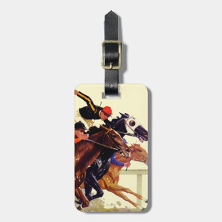 Thoroughbred Race Travel Bag Tag