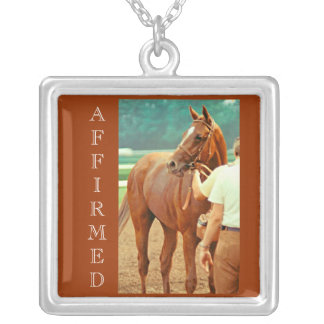 Thoroughbred Racehorse Affirmed 1978 Necklace