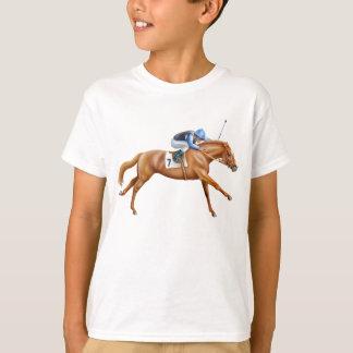 Thoroughbred Racehorse Kids T-Shirt