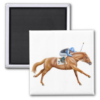 Thoroughbred Racehorse Magnet