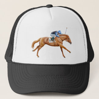 Thoroughbred Racehorse Mesh Hat