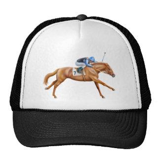 Thoroughbred Racehorse Mesh Hat