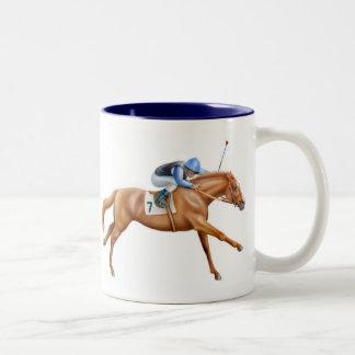 Thoroughbred Racehorse Mug