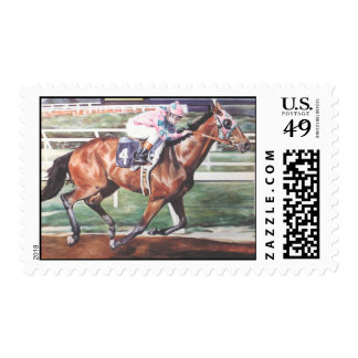 Thoroughbred Racehorse Stamp
