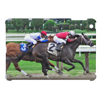 Thoroughbred Racing at Historic Saratoga Racetrack Case For The iPad Mini