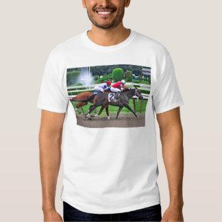 Thoroughbred Racing at Historic Saratoga Racetrack T Shirt