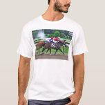 Thoroughbred Racing at Historic Saratoga Racetrack T-Shirt