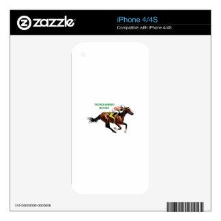 Thoroughbred Racing iPhone 4 Skins