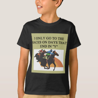 thoroughbred racing lovers T-Shirt