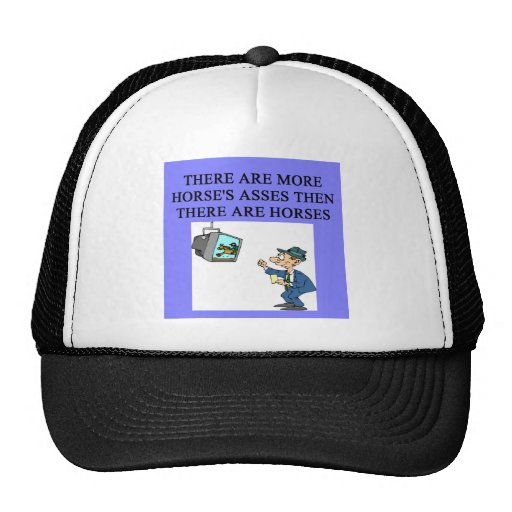 thoroughbred racing lovers trucker hat