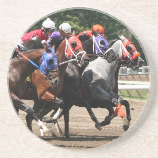Thoroughbred racing sandstone coaster