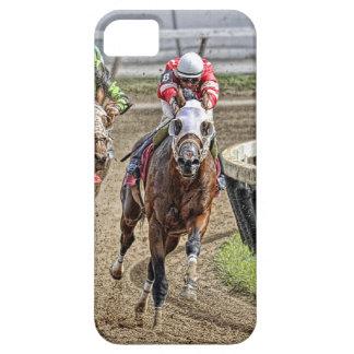 Thoroughbred Rounding Last Turn iPhone 5 Case