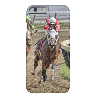 Thoroughbred Rounding Last Turn iPhone 6 Case
