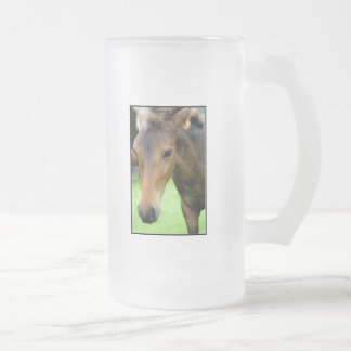 Thoroughbred Selections Frosted Beer Mug