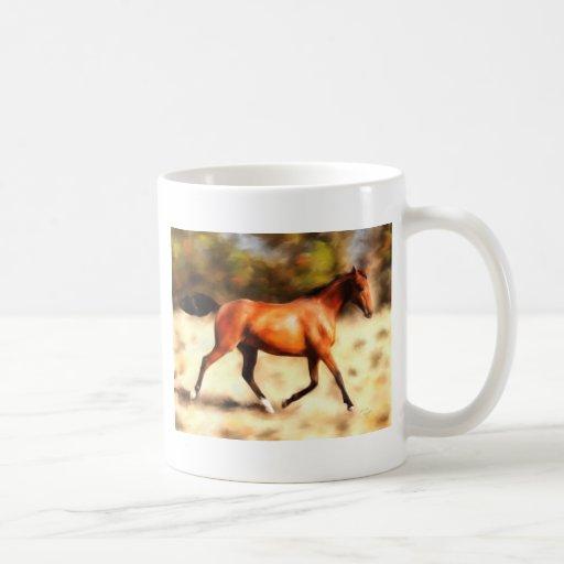 Thoroughbred Spirit Horse Art Mug