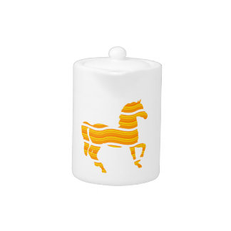 thoroughbred teapot
