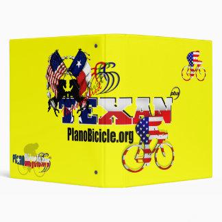 Thoroughbred Texan Cyclist Binding File 3 Ring Binder