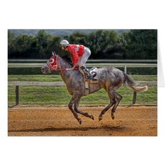 """Thoroughbred """"To The Winners Circle"""" Card"""