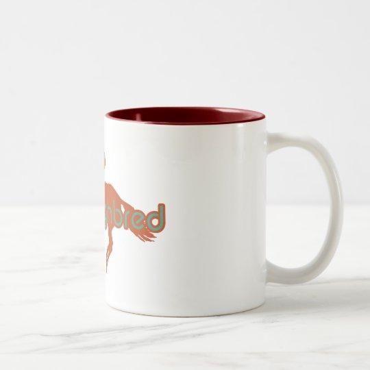 Thoroughbred Two-Tone Coffee Mug