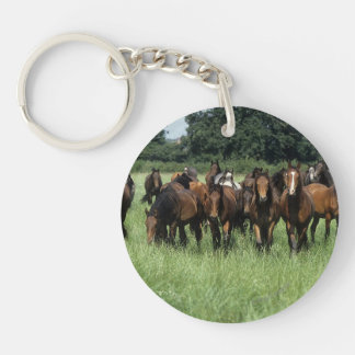 Thoroughbred Youngsters Keychain
