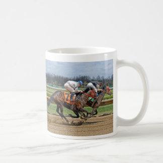 Thoroughbreds Close Race Mug