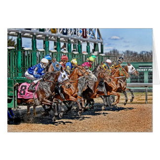 Thoroughbreds Gate Card