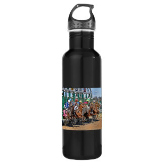 Thoroughbreds Gate Stainless Steel Water Bottle
