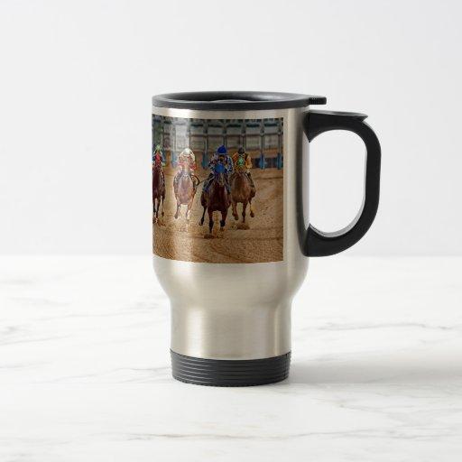 Thoroughbreds Out the Gate Travel Mug