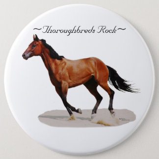 Thoroughbreds Rock Pin Button
