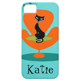 Thoroughly Modern Kitty iPhone 5/5S Case
