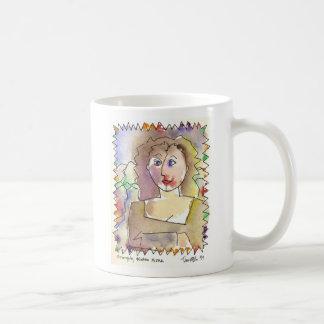 Thoroughly Modern Mona 2 sided Classic White Coffee Mug