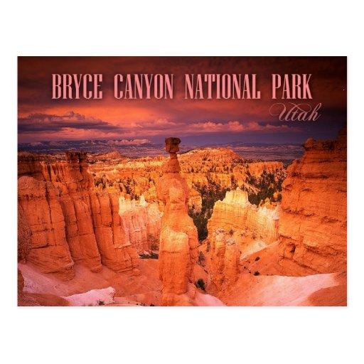 Thor's Hammer, Bryce Canyon National Park, UT Postcard