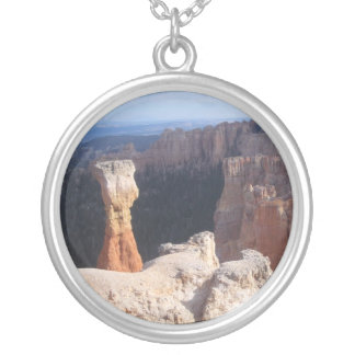 Thor's Hammer, Bryce Canyon Round Pendant Necklace